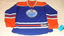 Edmonton Oilers NHL Hockey Jersey Ladies Blue Reebok Premier Women S Female