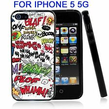 Comic Book Words for Iphone5 5G Case Cover
