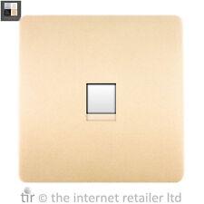 Trendi Artistico Moderno Lucido Ethernet Presa Oro Art-PCGO