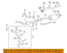 TOYOTA OEM Exhaust-Front Pipe Gasket 90917A6001