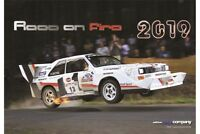 Audi Quattro Rallye Kalender 2019  Race on fire  Rally Calendar  NEU & OVP