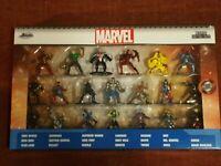 Jada Marvel 20-Piece Set * Nano Metalfigs Metal Mini Figures Die-cast  NEW
