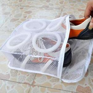 Sneaker Trainer Sports Shoe Boots Washing Bag Laundry Protect Zipper Case WL