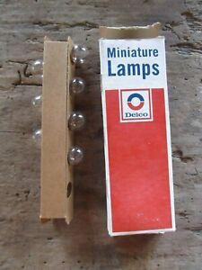 New NOS GM ACDelco Box of 7 Light Bulb 1972-1973 Chevrolet El Camino 9428429