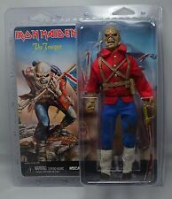 "IRON MAIDEN THE TROOPER EDDIE CLOTHED 8"" ACTION FIGURE RETRO DOLL NECA 2014"