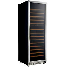 Eurodib Usf168D Dual Temperature Zone Urban Style Wine Cabinet w/ Led Lights
