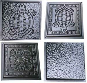 Concrete Mould Turtle PAVERS Stepping Stone garden path SOLD 1mold TURTLE STYLE