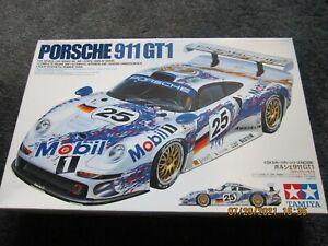 TAMIYA  1/24 PORSCHE 911 GT1 MIB