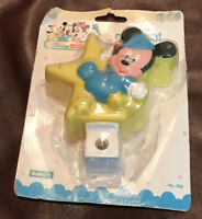Vintage Disney Babies Safety First Mickey Mouse Night Light 1994 NIP