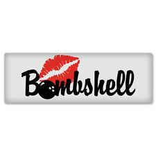 """Bombshell Sexy Girl car bumper sticker window decal 7"""" x 2"""""""