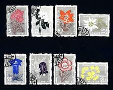 ROMANIA - 1957 - Flora dei Carpazi