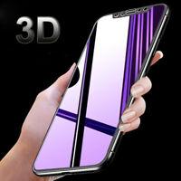 For iPhone 6s 7 8+ X Temper Glass Film 3D Mirror Magic Color Screen Protectors