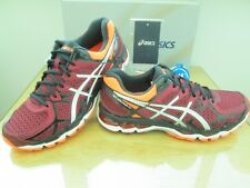 ASICS GEL-KAYANO 21 homme Ruby Orange Course Running Baskets Taille 11 EU 46.5