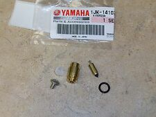 NEW OEM YAMAHA CARBURETOR FLOAT NEEDLE VALVE ASSEMBLY + SEAT XT 350 550 600 SRX
