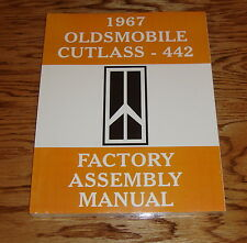 1967 Oldsmobile Cutlass 442 Factory Assembly Manual 67