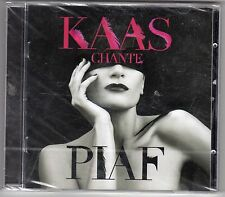 CD ALBUM PATRICIA KAAS CHANTE PIAF  SCELLE 16 TITRES