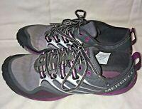 MERRELL Womens Barefoot Lithe Glove Dark Shadow Vibram Shoe Purple Size 6