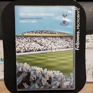 Tottenham Hotspur v Aston Villa (125 Anniversary) (Spurs) [DVD], Very Good 4-4.