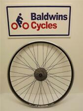 700c REAR DISC BRAKE Bike Wheel D/ WALL - BLACK Q/R + 8 SPEED SHIMANO CASSETTE