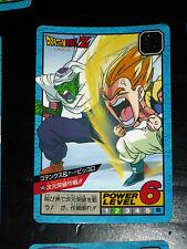 DRAGON BALL Z GT DBZ SUPER BATTLE POWER LEVEL CARDDASS CARD CARTE 545  JAPAN NM