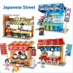 Sembo Japanese Street View Little Shop Series Japan City Building Blocks Medium