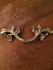 Vintage look Belwith Brass French Provincial Drawer Pull Gold Detail NEW