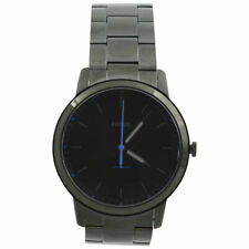 Fossil Men's FS5308 Black Stainless Steel Analog Watch