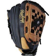 Rawlings 14-Inch RSB Series RHT Slow Pitch Softball Glove, Tan/Black (SS14BR)
