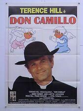 DON CAMILLO commedia azione di e con Terence Hill manifesto orig. 1984