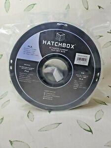 HATCHBOX Silk PLA 3D Printer Filament 1 kg Spool 1.75 mm Light Blue