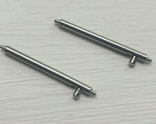 1Pair 24mm Quick Release Spring Bar S/less Steel 1.50mm Spring Watch Speed Pins