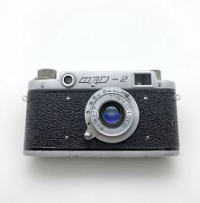 Vintage FED-2 35mm Rangefinder Film Camera W/50mm F3.5, Leica Copy, Screwmount!