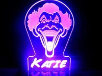 Personalized Joker LED Lamp Night Light Custom Name Signs Kids Room Comics Robin
