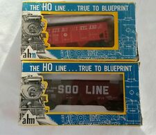 2 VINTAGE AHM FREIGHT TRAIN CARS HO SCALE FREE Shipping