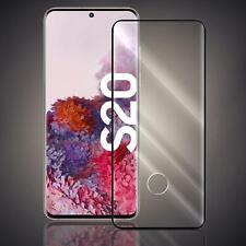 3D Schutz Glas Full Glue Samsung Galaxy S20 Display Schutz Glas Folie Curved 9H