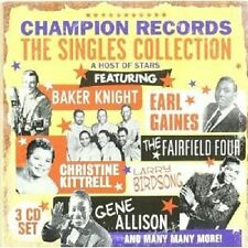 "Champion records ""the singles collection"" 3 CD NEUF"