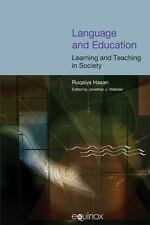 Language and Education: Learning and Teaching in Society (COLLECTED WORKS OF RUQ