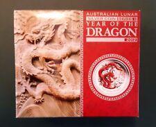 2012 Australia 1/2 oz Silver Dragon Proof Coloured + Box + COA - mintage 10,000