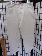 """Gloria Vanderbilt Beige Straight Leg Jeans Size 18 Inseam 29""""...............Z150"""