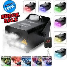 500W Led Fog Smoke Machine Halloween DJ Party Disco Stage Effect Light Remote