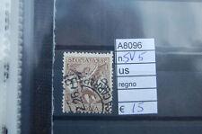 FRANCOBOLLI ITALIA REGNO USATI N. SV5 (A8096)