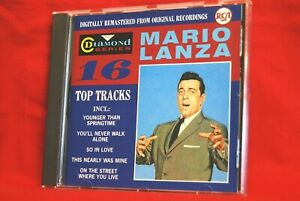 Mario Lanza - 16 Top Tracks - CD Album