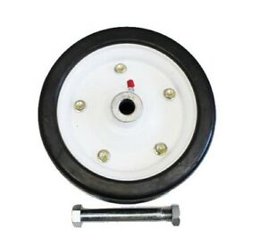 "King Kutter 502020 Finish Mower Wheel 9"" Solid Tire Fits all Models"
