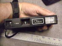 Vintage Titian Supercolor II Pocket Camera  Uses Kodak VR-G  Roll Film