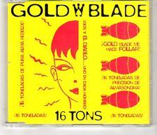 (HI744) Gold Blade, 16 Tons - 1998 CD