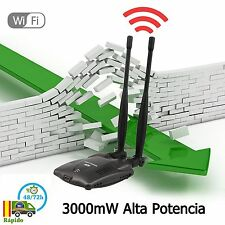 3000mW Alta Potencia N9100 Wireless Adaptador Usb Wifi  chipset Ralink 3070