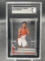 Rui Hachimura 2019-20 Clearly Donruss RC SGC 9 MT Rookie Wizards #58