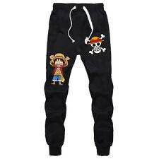Anime One Piece Monkey D Luffy Sport Pants Cosplay Trousers Joggers Sweatpants