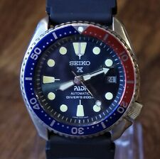 SEIKO 150M DIVERS AUTOMATIC MENS WATCH 7002-7000, PADI/PEPSI BEZEL