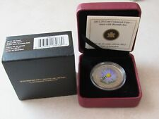 #118104   2012 25 CENT COLOURED COIN-ASTER AND BUMBLEBEE